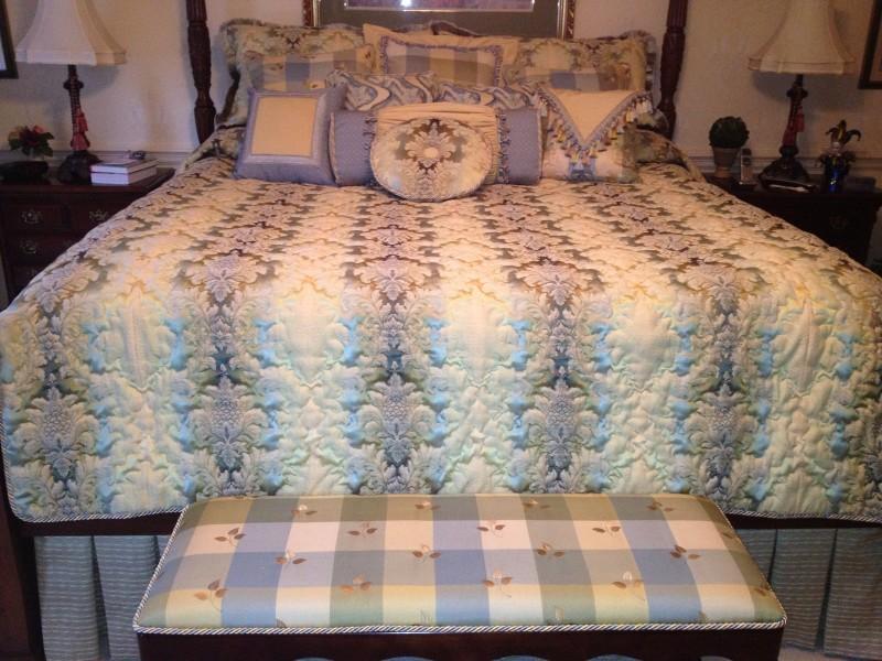 Custom Bedding Portfolio