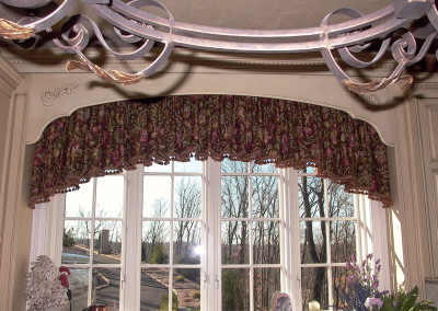 Shirred Arched Valance