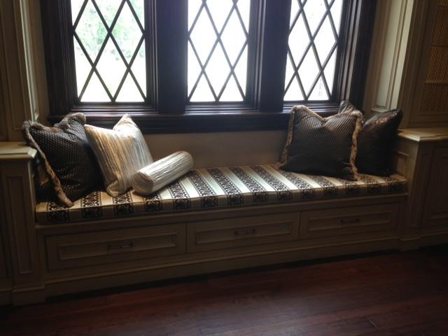 Custom Pillows & Seat Cushions