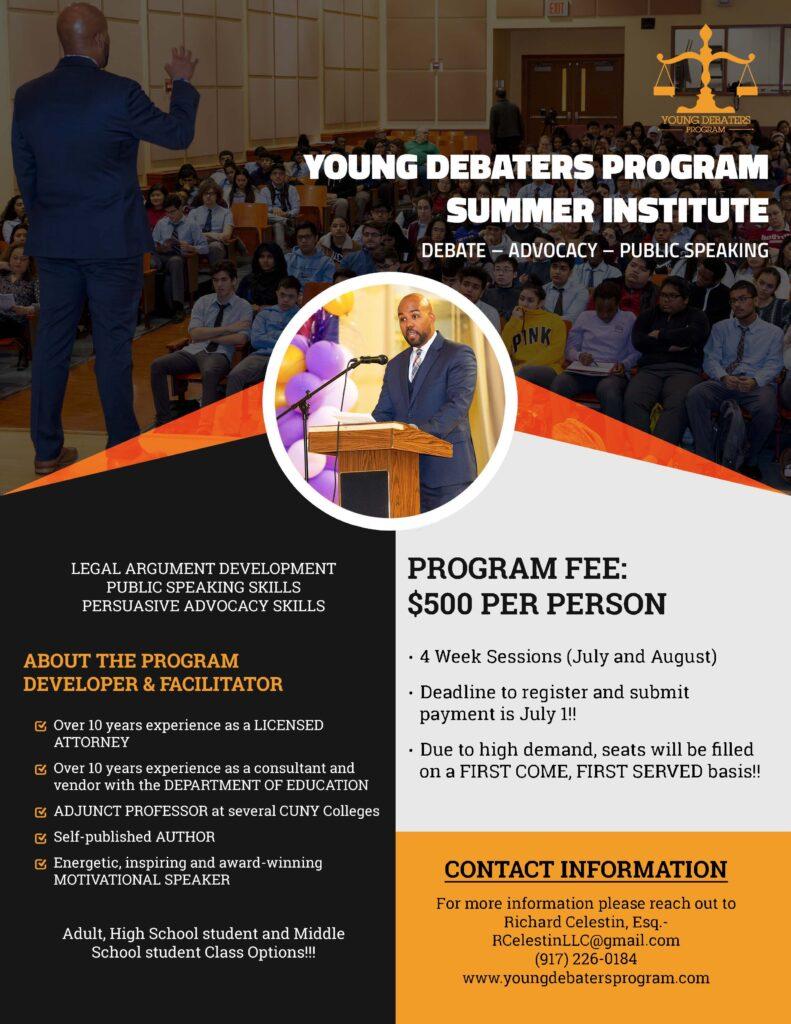 YDP Program Flyer
