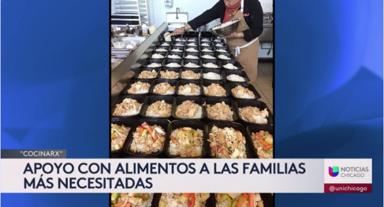 Cocina Rx featured on Univision Chicago