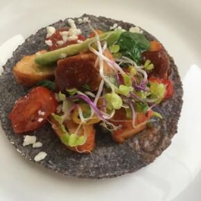 Cocina Rx Farm Tacos - Pollo en Chile Morita