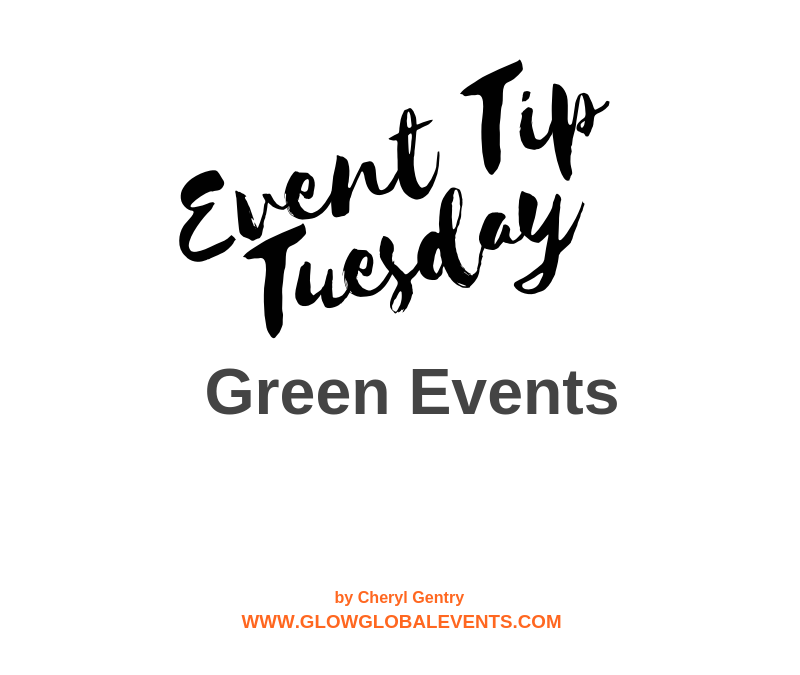 Event Tip: Green Events