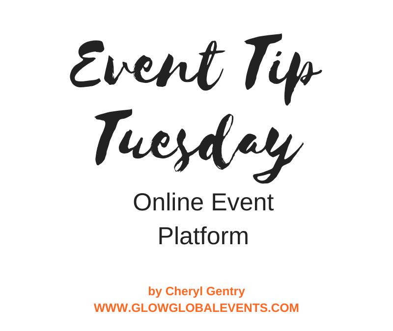 Event Tip: Online Event Platform