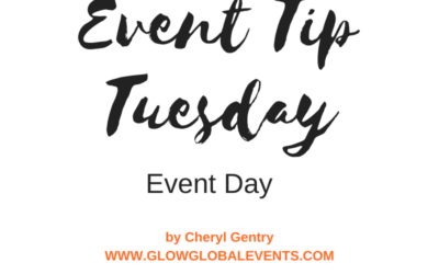 Event Tip: Event Day