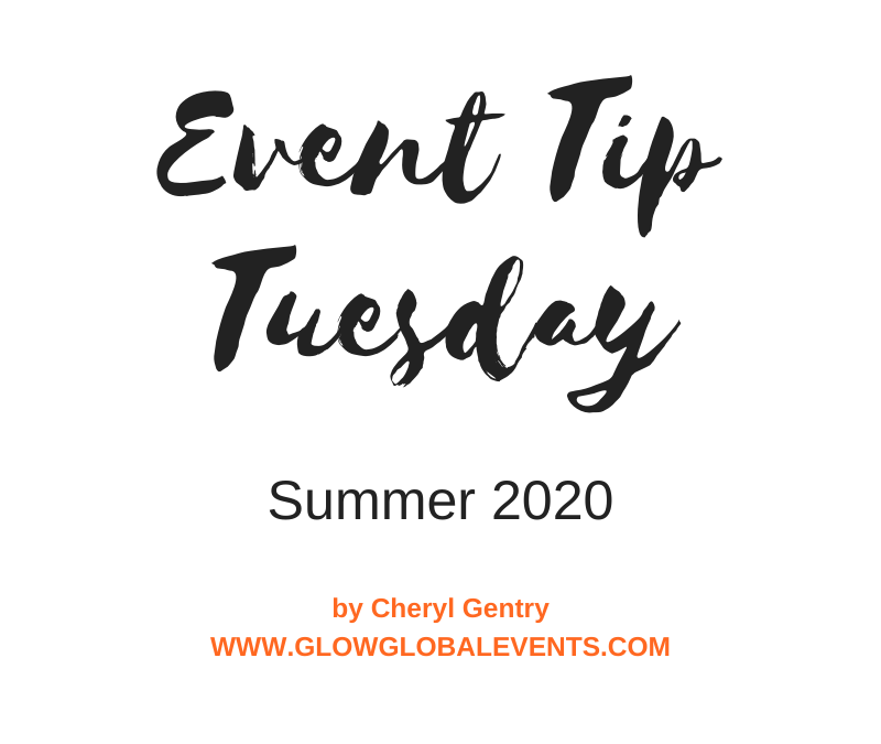 Event Tip: Summer 2020