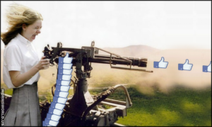 machine gun facebook like1 5466515002508 1024x610 1 300x179 - THE INCREDIBLE VALUE OF LIKE CAMPAIGNS - CREDIBILITY MATTERS