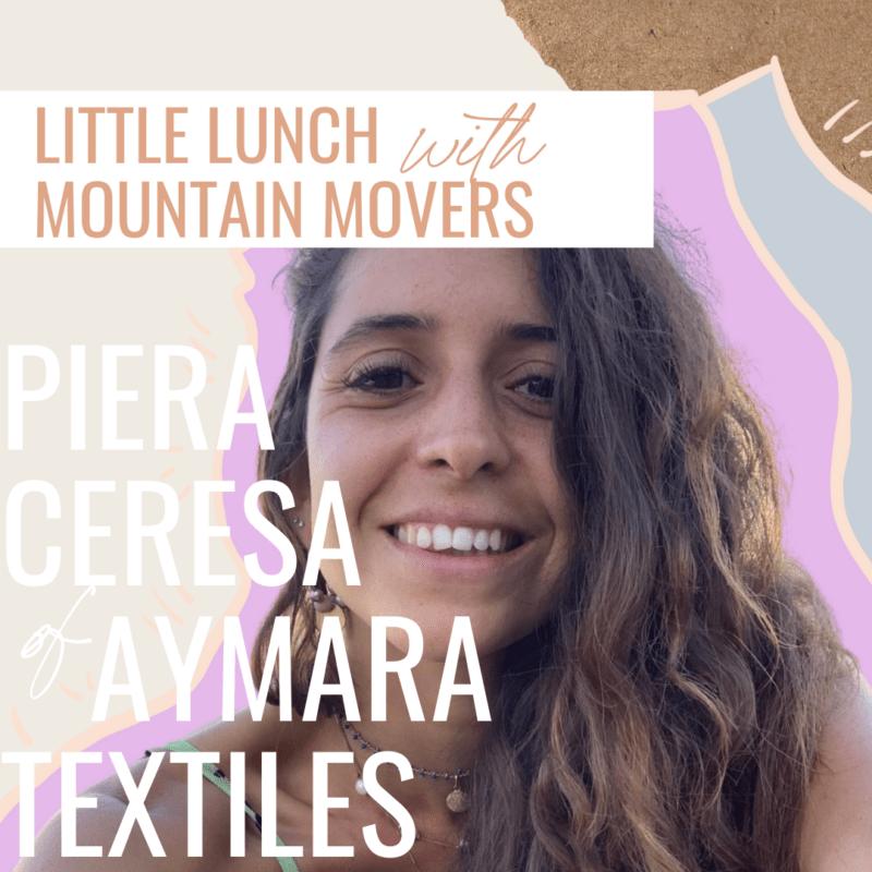 Piera Ceresa Aymara Textiles