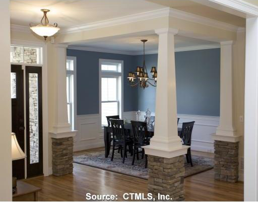Custom Stone & Cultured Marble Pillars