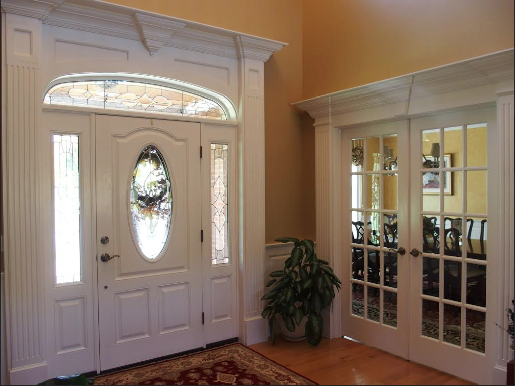 Custom Door Pediments and Trim