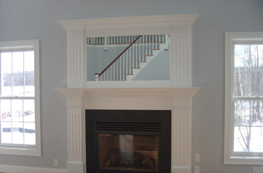 Customized Fireplace Mantle