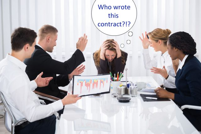 4 Good Reasons Why Your Business Should Not Use Contract Templates Found Online