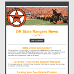 BeGraphic Email Blast Sample-OK State Rangers