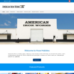 BeGraphic Website Design Sample-American Iron Works