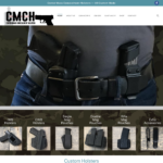 BeGraphic Website Design Sample-CMC Holsters