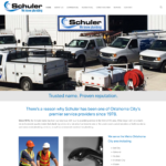 BeGraphic Website Design Sample-Schuler Plumbing