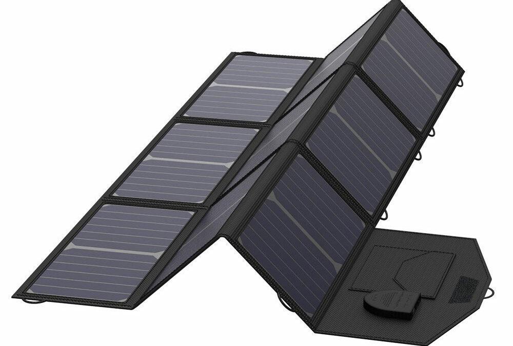 Camping-60 Watt Portable  Foldable Solar Panels
