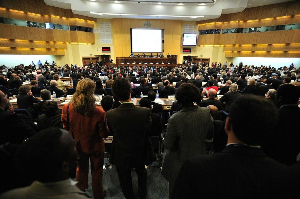 meeting, addis ababa, ethiopia