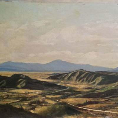 John T Clancy Korean Valley 18x24 oil on canvas