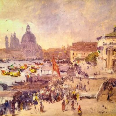 Moore Smith Venice Parade 1905 8 1/2 x 12