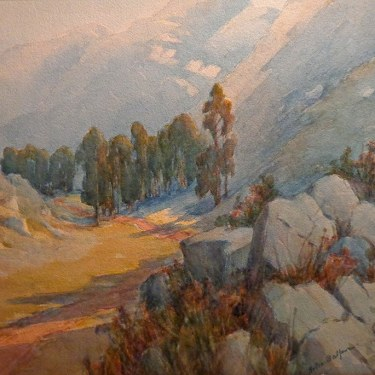 Helen Balfour Sierra Valley 16x20 Watercolor
