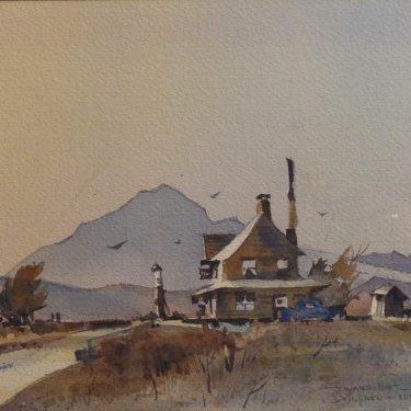 Richard Soderman Wayside 10x13 Watercolor