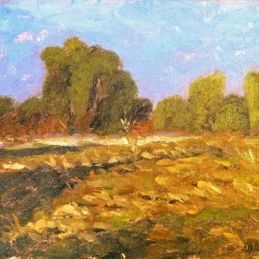 Dennis Westerling California Meadow 10x14 oil on canvas 175