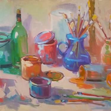 Kanya-Bugreyev-Artist-Inspiration-30x40-oil-on-canvas-795-Contemporary