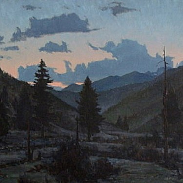 Twilight Comes by Taylor Lynde - Oil Painting 20x24