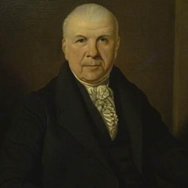 Unknown Artist English Gentleman circa 1820 25x30 Oil