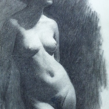 J. Mason Reeves  Shadows  22x16 pencil drawing