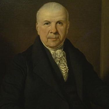 Unknown Artist English Gentleman circa 1820 30x25 Oil