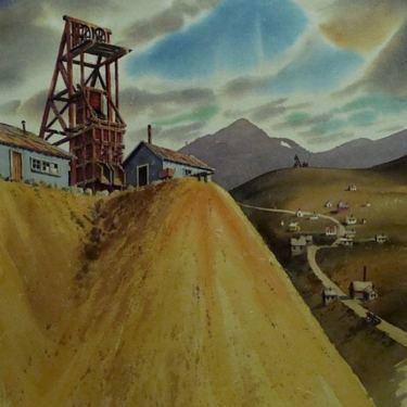 Duane R Light Consolidated Mine Dakota Nevada