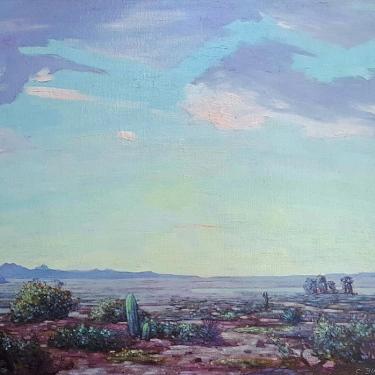 Conrad Buff Desert Sky 24x30 oil on canvas