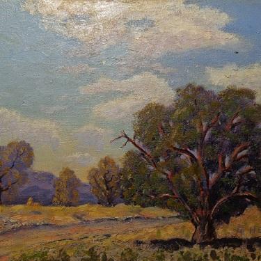 Cress Heald The Oak Tree 12x16 Oil on Canvas