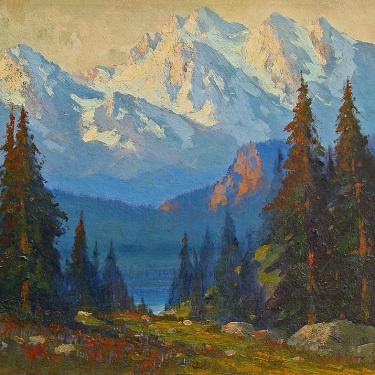 E. H. Pohl Sierra Light 16x20 Oil on Board