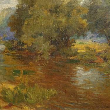 Einar Petersen Hangman's Creek 16x20 Oil on Canvas