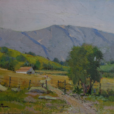 Felice Hrovat Tucked Away 11x14 Oil on Canvas