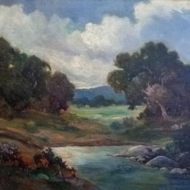 George S. Bickerstaff Santa Barbara Landscape 24x30 Oil on Canvas