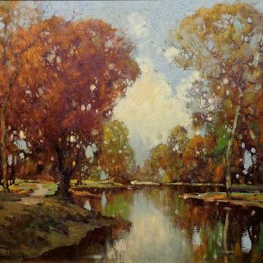 George Thompson Pritchard Autumn Reflections