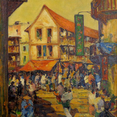 George Turland Goosey Chinatown