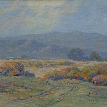 George Wallace Olson Desert Color near Palm Springs 25x30 Oil on Canvas