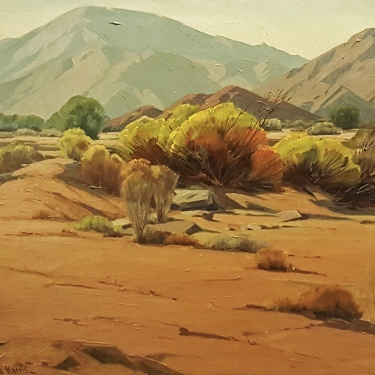 Sam Hyde Harris Desert Passage 24x30 Oil on Canvas