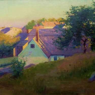 Arthur M Hazard Late Afternoon Colors 18x24 Oil on Canvas