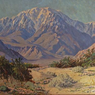 Carl Sammons Mt San Jacinto 24x30 Oil on Canvas