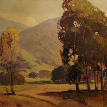 Charles Bell California Foothills 24x30 Oil on Canvas