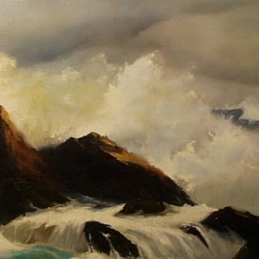 Claire Weidemaar Laguna Surf 20x30 oil