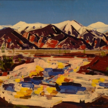 Conrad Buff Owens Valley 16x24 Oil