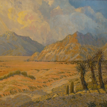 Courtney L. Miles Desert Afternoon 24x30 Oil on Canvas