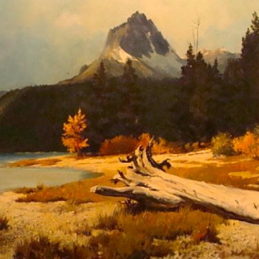 Earl Carpenter Red River 24x36 Oil